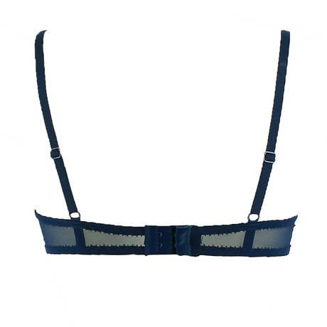 Soutien-gorge bandeau Adorable Bleu Profond