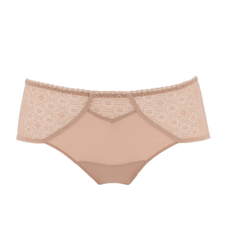 Shorty Expression Dentelle Sable