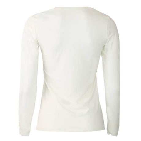 Tee-shirt manches longues Simply Perfect Nacre