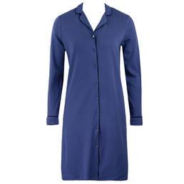 LAURENCE TAVERNIER chemise de nuit à manches longues en coton Cosy