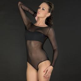 Body culotte manches longues Maison Close Pure Tentation