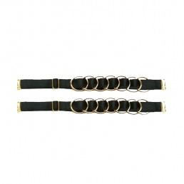 Bretelles de soutien-gorge amovibles Bordelle anneaux