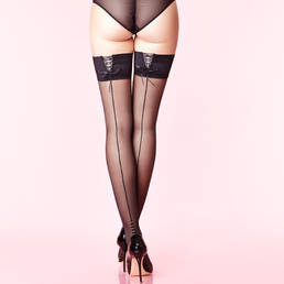 Bas-up Couture jarretière lacée Chantal Thomass Les Bas et Collants