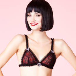 Soutien-gorge triangle Chantal Thomass Party