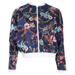 ANTIGEL veste en coton Folie Foulard