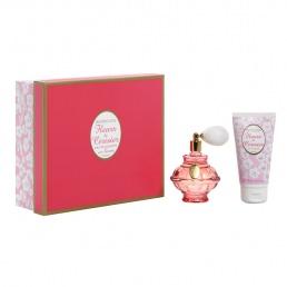 Coffret eau de toilette et lait corps parfum� fleurs de Cerisier Berdoues Les Contes Bucoliques
