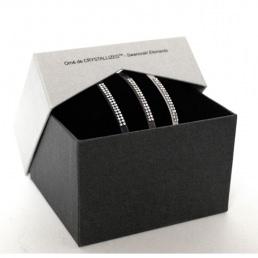 Coffret Bracelets deux rangs strass Swarovski