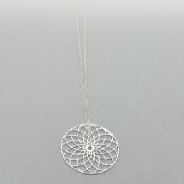 Collier chaîne Brin d'Amour Spirale