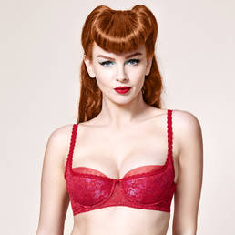Soutien-gorge balconnet Dita Von Teese Sheer Witchery