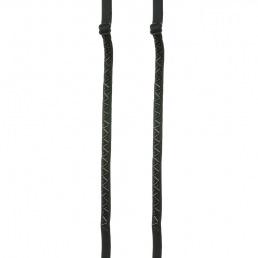 Bretelles de soutien gorge noires perl�es Magic Bodyfashion