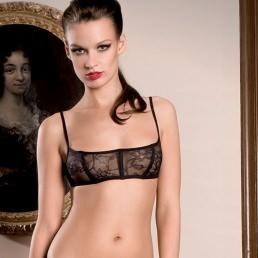 Soutien-gorge corset Maison Close Villa des Lys
