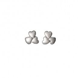 Boucles d'oreilles 3 Coeurs Pilgrim
