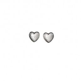 Boucles d'oreilles coeur Pilgrim