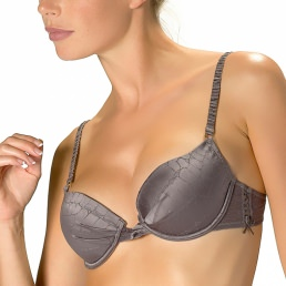 Soutien-gorge push-up Rosy Paris La Croco