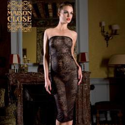 Robe longue Maison Close Villa des Lys