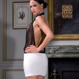 Robe Maison Close Cabaret Smoking