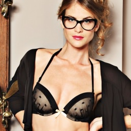 Soutien-gorge push-up bretelles multipositions Rosy Paris Pampille