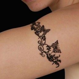 Tattoos temporaires Bracelet Papillons