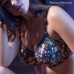 Soutien-gorge armatures 3 parties PrimaDonna Twist Flower Fever