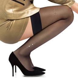 Bas autofixant Perle Le Bourget Couture