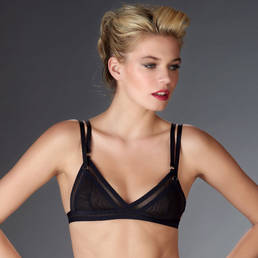 Soutien-gorge triangle Maison Close Mise à nu