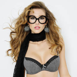 Soutien-gorge push-up Antigel Trouble Mixte