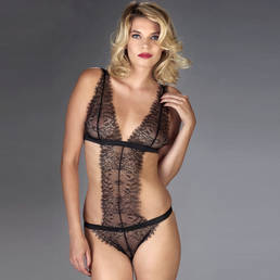 Body triangle string Maison Close Villa Satine