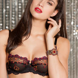 Soutien-gorge corbeille Lise Charmel Rêver Byzance