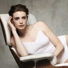 Top fines bretelles en coton Hanro Cotton Seamless