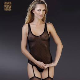 Body string d�tachable porte-jarretelles Maison Close Rue des Demoiselles