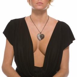 Collier pendentif coeur Forplay Lisburn