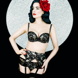 Porte-jarretelles  Dita Von Teese Glorified Girl