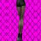 CHANTAL THOMASS Collant Ohlala noir