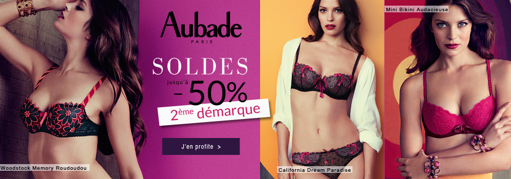 Soldes Aubade