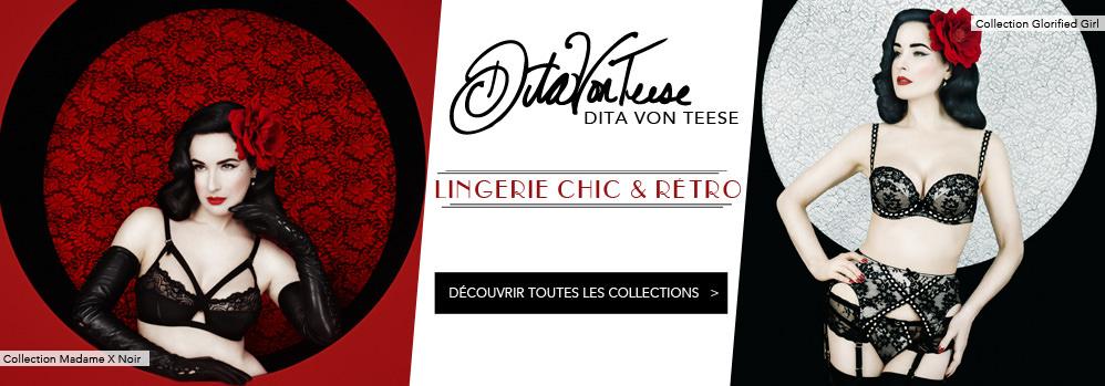 Lingerie Dita Von Teese